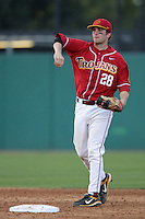 March 7 2010: Ashton Kent of USC during game against University of New Mexico at Dedeaux Field in Los Angeles,CA.  Photo by Larry Goren/Four Seam Images