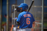 New York Mets Levi Michael (6) during a Minor League Spring Training intrasquad game on March 29, 2018 at the First Data Field Complex in St. Lucie, Florida.  (Mike Janes/Four Seam Images)