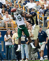16 September 2006: Michigan State cornerback Demond Williams (9)..The Michigan State Spartans defeated the Pitt Panthers 38-23 on September 16, 2006 at Heinz Field, Pittsburgh, Pennsylvania.