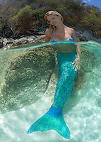 Cassandra Bitterwolf as mermaid<br />