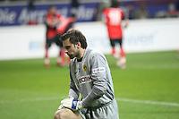 Marc Ziegler (BVB) enttaeuscht nach dem Gegentreffer<br /> Eintracht Frankfurt vs. Borussia Dortmund, Commerzbank Arena<br /> *** Local Caption *** Foto ist honorarpflichtig! zzgl. gesetzl. MwSt. Auf Anfrage in hoeherer Qualitaet/Aufloesung. Belegexemplar an: Marc Schueler, Am Ziegelfalltor 4, 64625 Bensheim, Tel. +49 (0) 6251 86 96 134, www.gameday-mediaservices.de. Email: marc.schueler@gameday-mediaservices.de, Bankverbindung: Volksbank Bergstrasse, Kto.: 151297, BLZ: 50960101