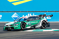 23rd August 2020, Lausitz Circuit, Klettwitz, Brandenburg, Germany. The Deutsche Tourenwagen Masters (DTM) race at Lausitz;  Marco Wittmann GER, BMW Team RMG, BMW M4 DTM  over the curbing