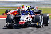 16th July 2021; Silverstone Circuit, Silverstone, Northamptonshire, England; F2 British Grand Prix, Free Practice; Guilherme Samaia in his Charouz Racing System Dallara F2 2018