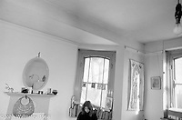 One of the rooms shared by two or three kids, Summerhill school, Leiston, Suffolk, UK. 1968.  A wonky shot, I know, but I like it (John Walmsley).