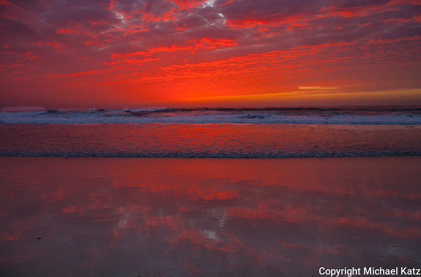 Afterglow, Asilomar Beach, Pacific Grove
