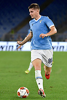 Toma Basic of SS Lazio in action during the Europa League group stage football match between SS Lazio and Lokomotiv Moskva at Olimpico stadium in Rome (Italy), September 30th, 2021. Photo Antonietta Baldassarre / Insidefoto