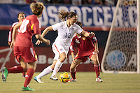 San Diego, California - Thursday April 10, 2014: The US Women's National team defeated the Women's National team of China 3-0 in an International friendly match at Qualcomm stadium.