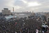 Proteste der Opposition in Kiew am 15.12.2013