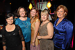Marilyn Magnant, Chandra Golding, Ali Adams, Sheree DeGennaro and Sandie Knowles at the ASID Awards at Warehouse Live Sunday Oct. 26, 2008. (Dave Rossman/For the Chronicle)