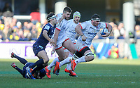11 January 2020; Ulster's Marcell Coetzee during the Heineken Champions Cup Pool 3 Round 5 match between ASM Clermont Auvergne and Ulster at Stade Marcel-Michelin in Clermont-Ferrand, France. Photo by John Dickson/DICKSONDIGITAL
