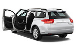Rear three quarter door view of a 2010 Citroen C5 Dynamique 5 Door Wagon 2WD