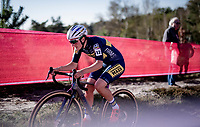 Maud Kaptheijns (NED/Deschacht - Group Hens - Maes Containers)<br /> <br /> Elite Women's Race<br /> 2021 UCI cyclo-cross World Cup - Zonhoven (BEL)<br /> <br /> ©kramon