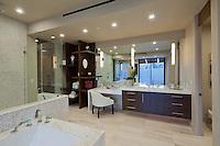 Stock photo of large luxury master bath