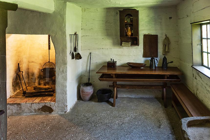 Communal kitchen, Ephrata Cloister, Pennsylvania, USA