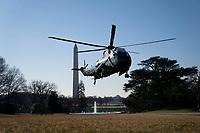 FEB 08 President Joe Biden returns from Delaware
