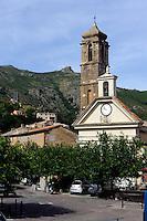 Barockkirche Santa Croce in Speluncato in der Balagne, Korsika, Frankreich