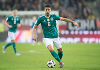 Sami Khedira (GER) Fussball Laenderspiel: Deutschland - Spanien in Duesseldorf, Deutschland am 23.03.2018, *** Sami Khedira GER Soccer Laender match Germany Spain in Duesseldorf Germany on 23 03 2018   <br /> Foto Insidefoto