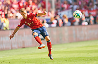 Joshua KIMMICH, FCB 32   <br /> FC BAYERN MUENCHEN - VFB STUTTGART 1-4<br /> Football 1. Bundesliga , Muenchen,12.05.2018, 34. match day,  2017/2018, , 28.Meistertitel, <br />   *** Local Caption *** © pixathlon<br /> Contact: +49-40-22 63 02 60 , info@pixathlon.de