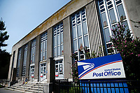 WEST NEW YORK, NJ - AUGUST 17: Generel View the United States Postal Service office on August 17, 2020 in West New York,  New Jersey. Mail Delays Fuel Concern Trump Is Undercutting Postal System before elections , Mail-in voting across the country has led to a series of anomalous results in recent weeks (Photo by Kena Betancur/ VIEWpress via Getty Images)