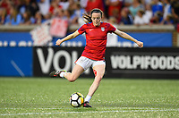 Cincinnati, OH - Tuesday September 19, 2017: Rose Lavelle during an International friendly match between the women's National teams of the United States (USA) and New Zealand (NZL) at Nippert Stadium.