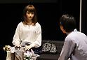 Humanoid robots unveiled at Miraikan in Tokyo