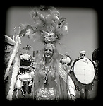 June 25, 2005. Brooklyn, NY. People gather for the annual MERMAID parade at Coney island, NY. The annual event kicks off the summer season.