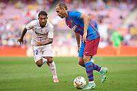 29th August 2021; Nou Camp, Barcelona, Spain; La Liga football league, FC Barcelona versus Getafe; Martin Braithwaite of FC Barcelona