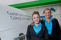 Saturday 20 September 2014<br /> Pictured:<br /> Re: Cardiff & Vale University - Air Stewards
