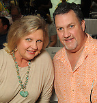 Kathy and Gary Minter at the M.D. Anderson Back-to-School Fashion Show at the Galleria Saturday Aug. 16, 2014.(Dave Rossman photo)