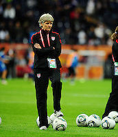 Fifa Women's World Cup Germany 2011 : Japan - USA  at Commerzbank Arena Frankfurt : Pia Sundhage.foto DAVID CATRY / Vrouwenteam.be