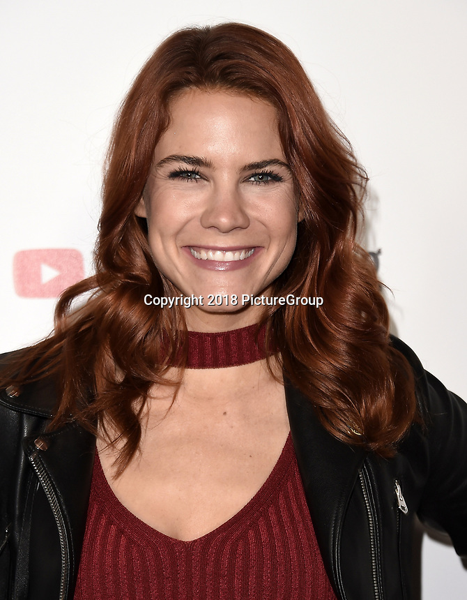 LOS ANGELES - DECEMBER 6: Courtney Hope attends the 2018 Game Awards at the Microsoft Theater on December 6, 2018 in Los Angeles, California. (Photo by Scott Kirkland/PictureGroup)
