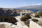 Blick auf Dalmatien an der Meeresbuch von Novigrad Republik Kroatien / View to Dalmatia at the Novigrad Bay in the Republic of Croatia