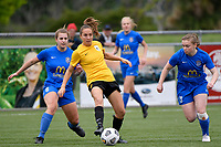 Ellen Fibbes of Capital during the Handa Women's Premiership - Capital Football v Southern United at Petone Memorial Park, Wellington on Saturday 7 November 2020.<br /> Copyright photo: Masanori Udagawa /  www.photosport.nz