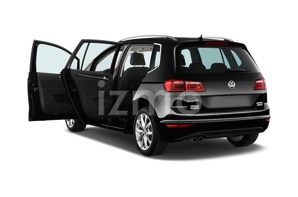 Car images of a 2014 Volkswagen GOLF SPORTSVAN Highline 5 Door Mini MPV 2WD Doors