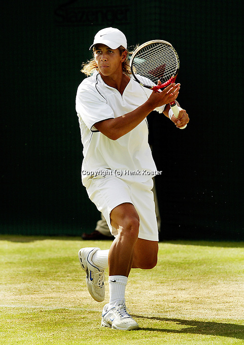 24-06-2004, London, tennis, Wimbledon, Verdasco