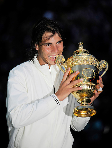6TH JULY 2008, WIMBLEDON TENNIS CHAMPIONSHIPS, RAFAL NADAL DEFEATS ROGER FEDERER IN THE MENS FINAL, ROB CASEY PHOTOGRAPHY.