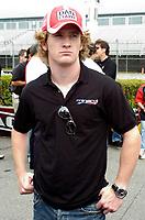 Toronto (ON), July 5, 2007 - Steelback Grand Prix driver press conference. In photo, Dan Clarke.