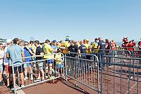 Nice le 22 Jiun 2016 Ambince Fan Zone Promenade des Anglais depart pour le Stade Allianz Supporter Suedois et Belge