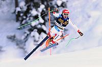 19th December 2020; Saslong, Val Gardena, Tyrol, Italy; International Ski Federation Alpine Ski World Cup, 2nd Men's Downhill, Val Gardena; Carlo Janka (SUI)