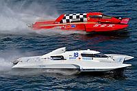 "Scott Liddycoat, GP-18, Tom Thompson, GP-525 ""Fat Chance""  (Grand Prix Hydroplane(s)"