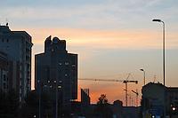 - palazzi  alla periferia sud della città....- building at south periphery of the city........
