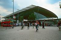 London:  Jubilee Line, Stratford Station.  Chris Wilkinson Architects. Photo 2005.