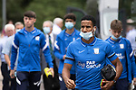 St Johnstone v Preston North End…13.07.21  McDiarmid Park<br />Former Celtic player Scott Sinclair arrives ahead of tonight's game<br />Picture by Graeme Hart.<br />Copyright Perthshire Picture Agency<br />Tel: 01738 623350  Mobile: 07990 594431
