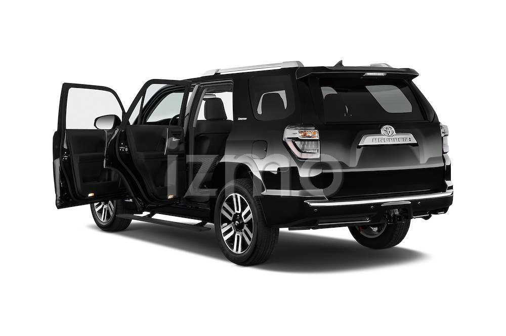 Car images close up view of a 2015 Toyota 4Runner Limited 5 Door SUV doors