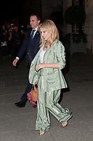 January 17 2018 ,PARIS FRANCE<br /> Singer Kylie Minogue leaves the Hotel the<br /> Ritz in Paris. #> BEAUCOUP DE PEOPLE A L'HOTEL DU RITZ DE PARIS