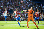 Atletico de Madrid's Nico Gaitán and SD Eibar's Anaitz Arbilla Zabala during Liga Liga match between Atletico de Madrid and SD Eibar at Vicente Calderon Stadium in Madrid, May 06, 2017. Spain.<br /> (ALTERPHOTOS/BorjaB.Hojas)