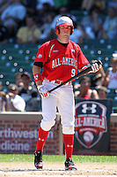 Catcher (J.D.) John David Crowe Jr. during the 2010 Under Armour All-American Game powered by Baseball Factory at Wrigley Field in Chicago, New York;  August 14, 2010.  Photo By Mike Janes/Four Seam Images