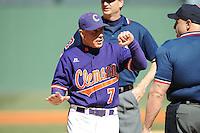 Jack Legett (Head Coach) Clemson Tigers (Photo by Tony Farlow/Four Seam Images)