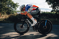 6th October 2021 Womens Cycling Tour, Stage 3. Individual Time Trial; Atherstone to Atherstone. Audrev Ragot Cordon.