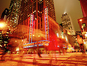 Radio City at Night in Manhattan New York CREDIT Geraint Lewis